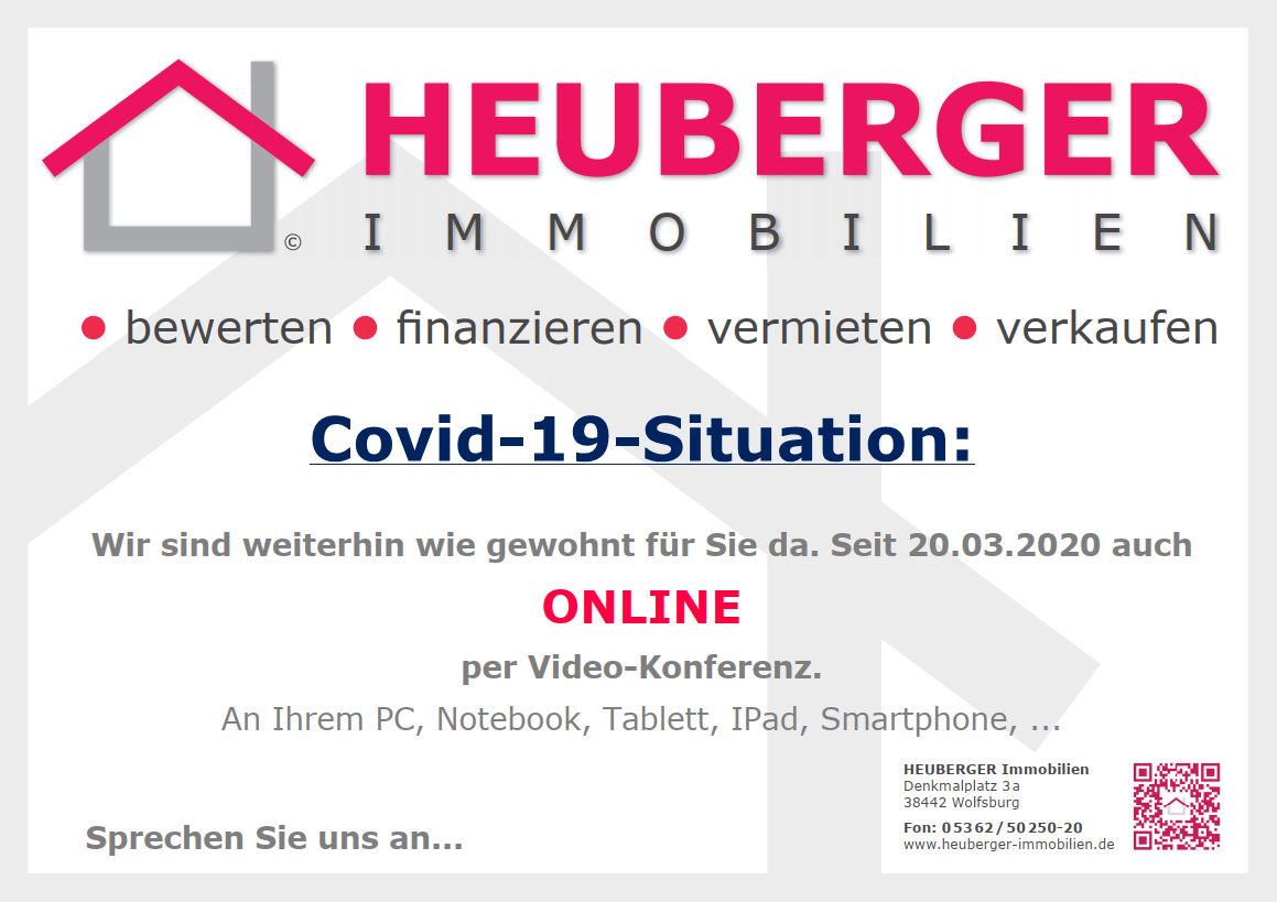 HEUBERGER Immobilien Covid 19 quer