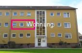 VERMIETET !!!  2-Zimmer-Wohnun mit Balkon und Stellplatz