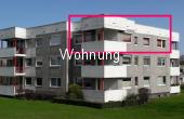 VERMIETET !!! 3-Zimmer-Wohnung mit Balkon, Einbauküche und PKW-Stellplatz